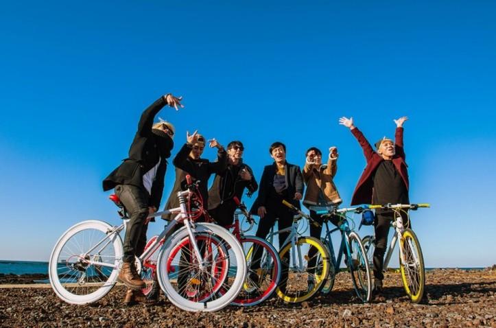Sinchang coastal road jeju island cycling