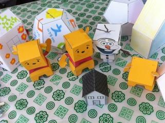 Folding cute origami