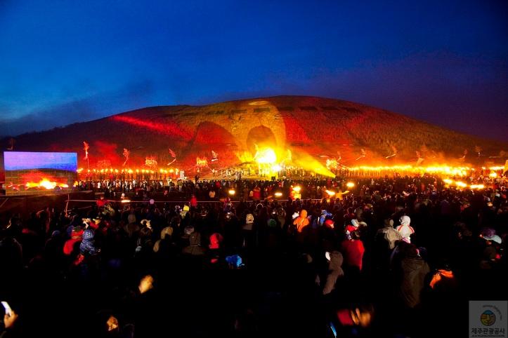 140 Jeongwol Daeboreum Jeju Fire Festival 2