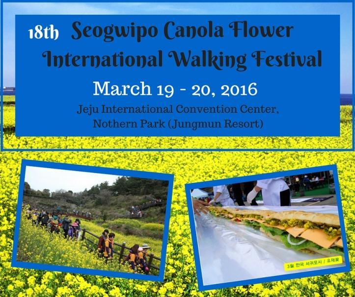 Seogwipo Canola Festival